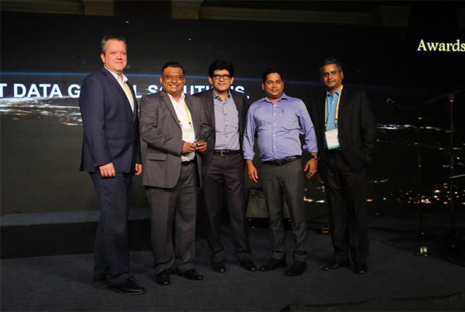 NTT DATA bags awards