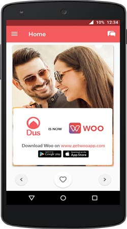 Woo dating site india