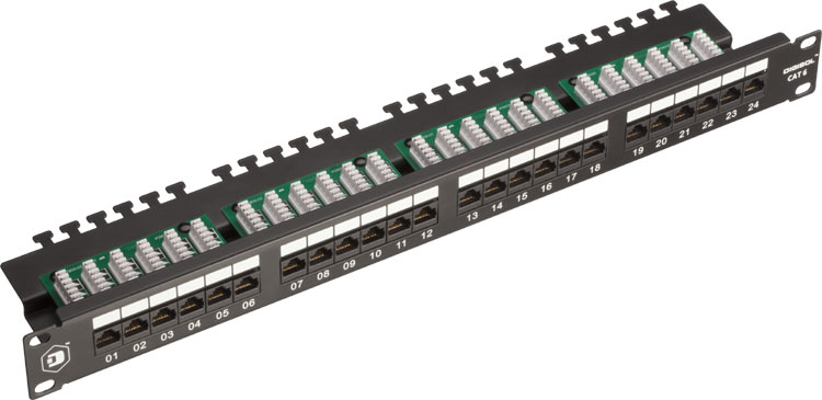 DIGISOL launches 90 degree UTP Patch Panels Channel Infoline
