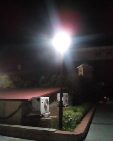 Zopo Color M5 camera night shot
