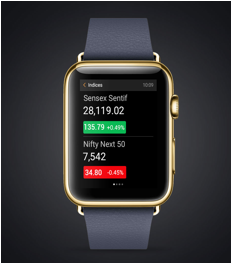 Moneycontrol Smartwatch app