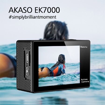 Akaso Brings Wifi Sports Action Camera to India