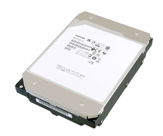 Toshiba 14TB HDD with Conventional Magnetic Recording