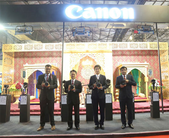 Canon India at Consumer Electronic Imaging Fair 2018