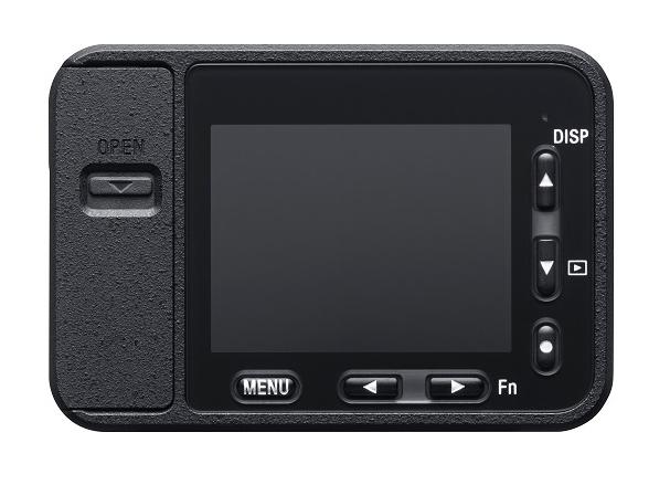 Sony RXO rear