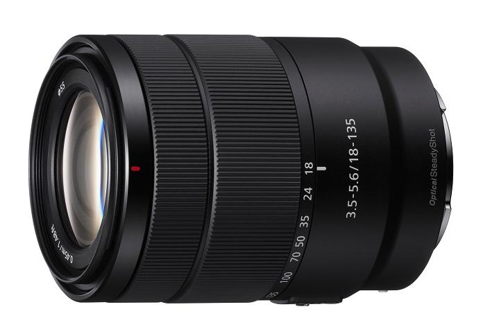 Sony SEL18135 lens