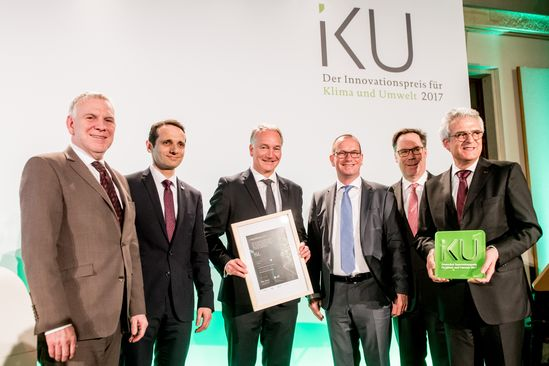 LANXESS receives German Innovation Award for Climate and Environment