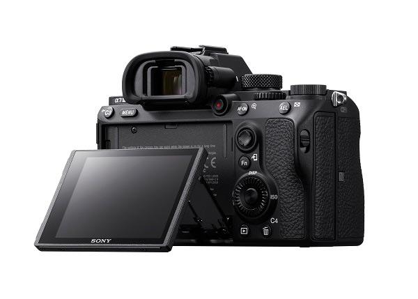 Sony A7 III tilt low