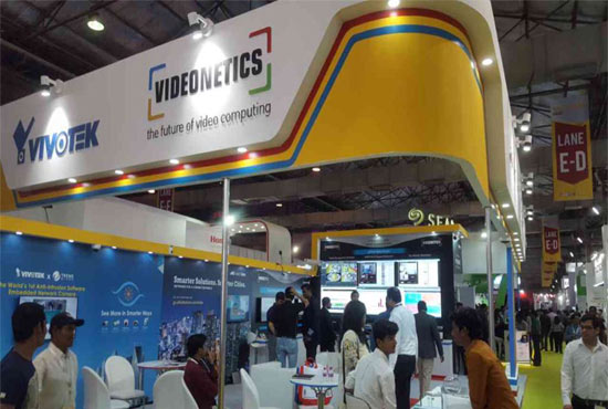 VIVOTEK Booth at Secutech