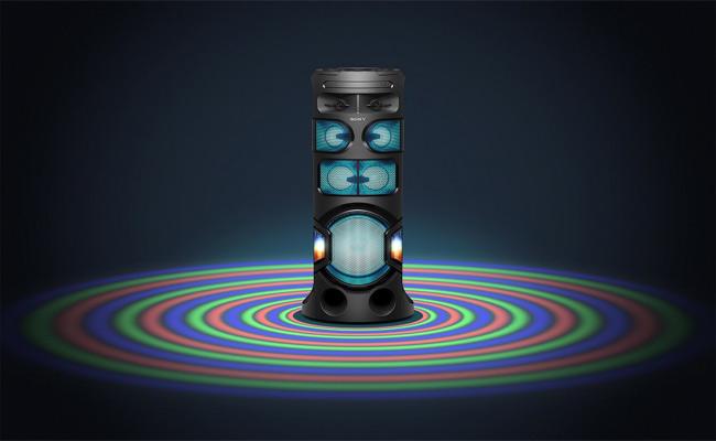 Sony MHC V81D Partylight
