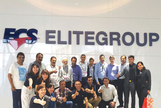 ECS Rashi Team with Partners