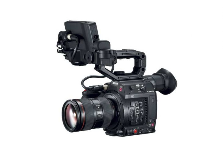 Canon EOS C200 being showcased at Future Broadcasting