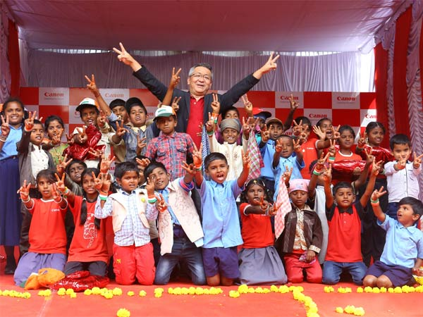 Canon India celebrates 4 years of adoption of Maharaja Katte Village