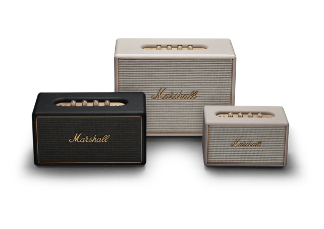 Marshall Wireless Multi-Room speakers