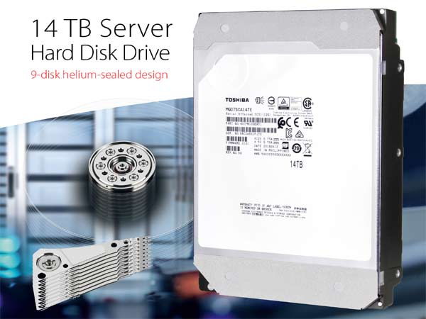 Toshiba 14TB Server Hard Disk Drive