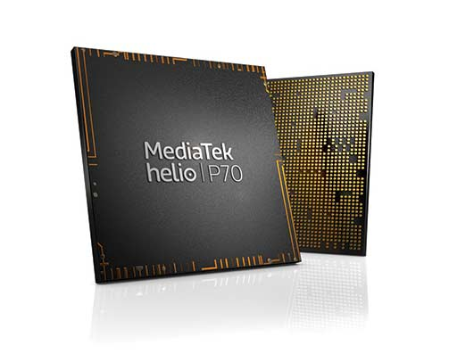 MediaTek Helio P70 Chip White