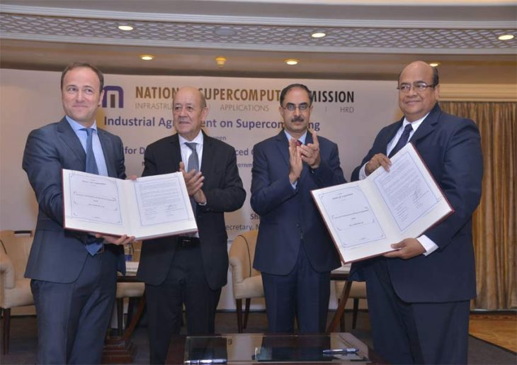 Atos and Indian government sign HPC agreement