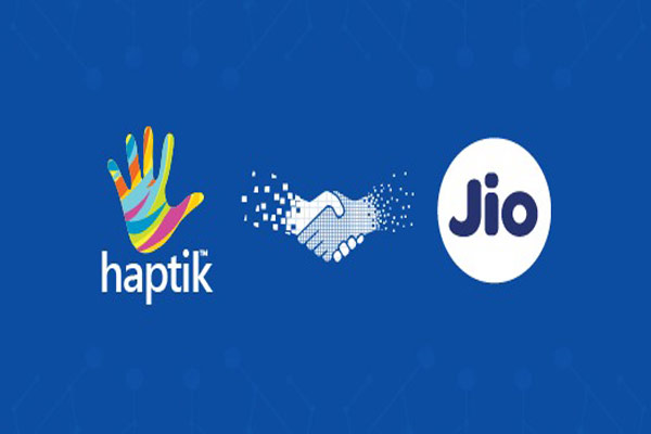 Haptik Partners Reliance Jio