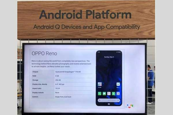OPPO joins Android Q Beta program