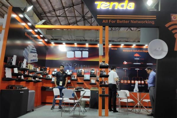 Tenda showcased array networking solutions