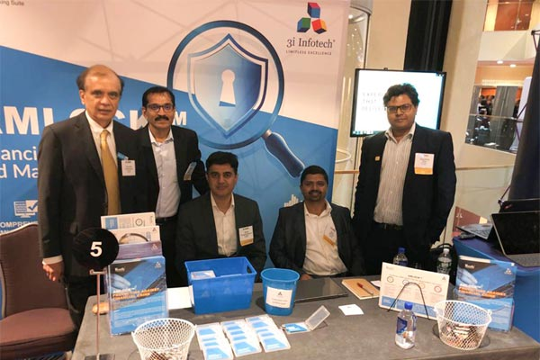 3i Infotech at ACAMS AML Risk Management Conference in New York