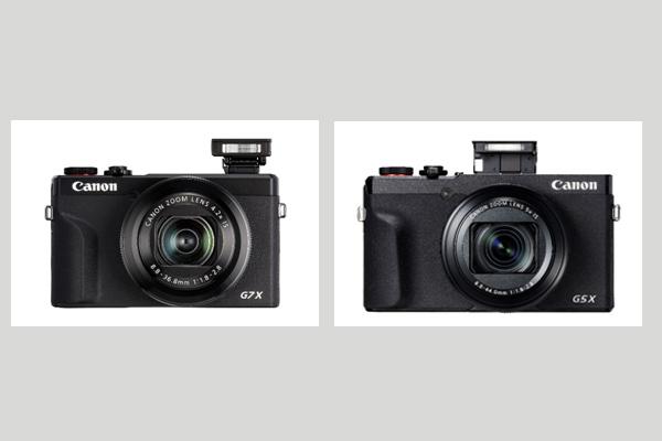 PowerShot G5 X Mark II and PowerShot G7X Mark III