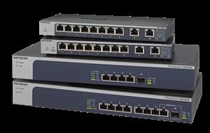 Netgear 5-Speed Switches