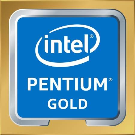 Intel Pentium Gold badge
