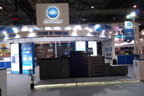 Konica Minolta at PAMEX 2017