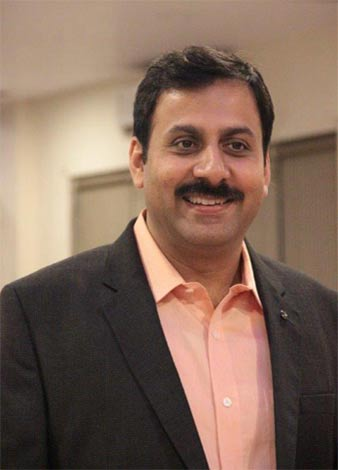 Rajesh Goenka VP Sales Marketing Rashi Peripherals