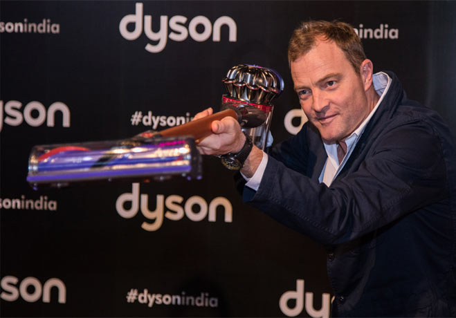 Jake Dyson at Dyson India launch