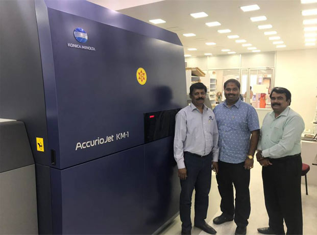 Konica Minolta India first Southeast Asian installation