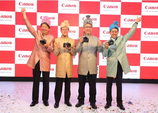 Canon India EOS-R launch
