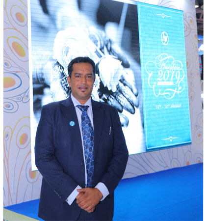 A. Appadurai, Country Manager, Indigo and PageWide Web Press Graphics Solutions Business HP Inc India