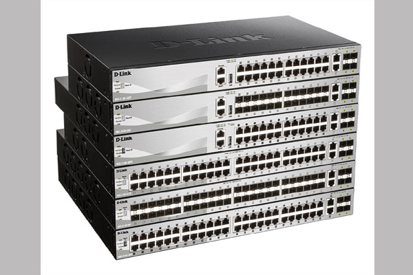 DGS-3130 Series Lite Layer 3 Stackable Managed Gigabit Switches