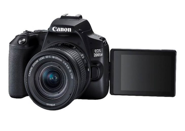 Canon launches EOS 200D II DSLR