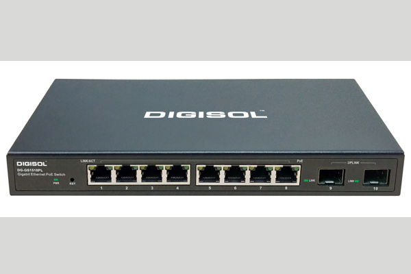 Digisol DG-GS1510PL PoE switch