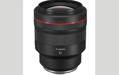 Canon RF85mm f/1.2L USM lens