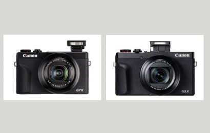 PowerShot G5 X Mark II and PowerShot G7X Mark III