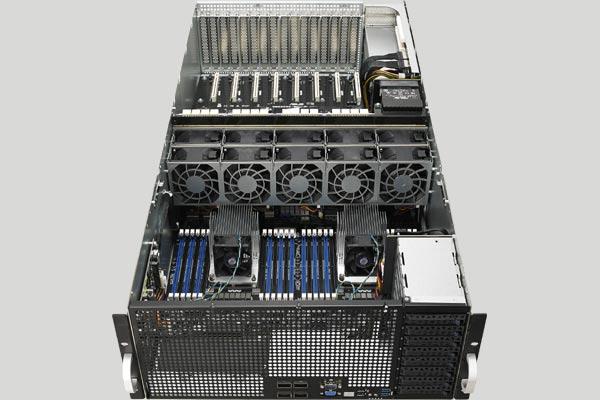 ASUS ESC8000 G4 GPGPU server