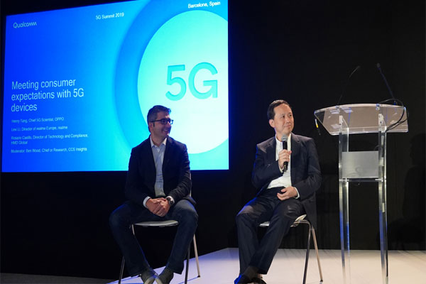 Henry Tang, OPPO's Chief 5G Scientist for 5G smartphone