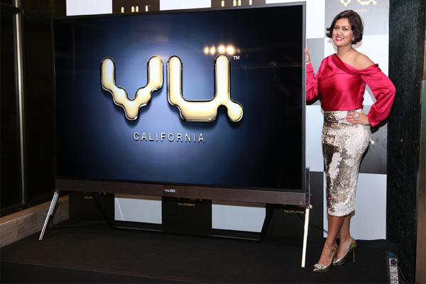 Devita Saraf, Chairman VU Television living the VU Life with VU Premium Android TV
