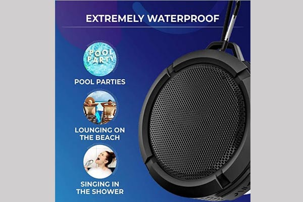 BRIX Waterproof Portable Bluetooth Speakers