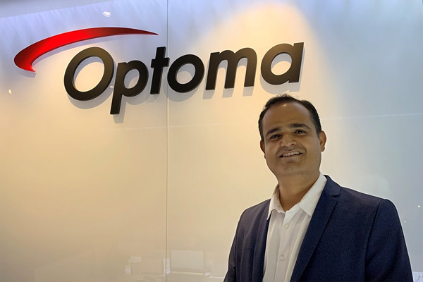 Vijay Kumar Sharma Joins Optoma India