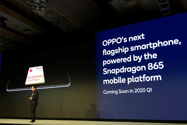 OPPO to Launch 5G Smartphones Powered by Qualcomm Snapdragon 865