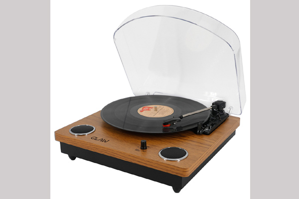 CLAW Turntable Brown