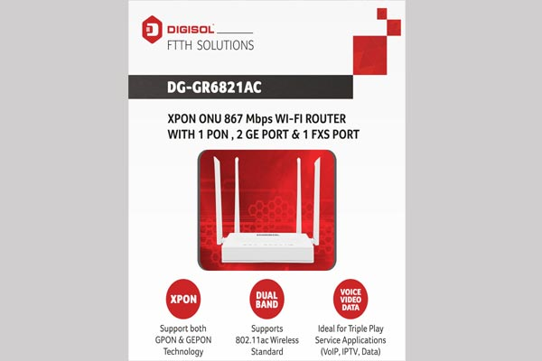 DG-GR6821AC XPON Router