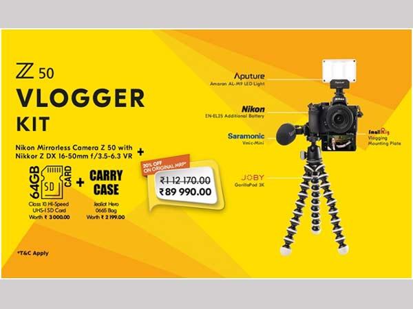 Nikon Z50 Vloggers Kit