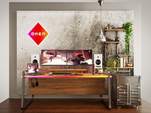 HP Omen Crib Gaming Setup for Indian Gamers